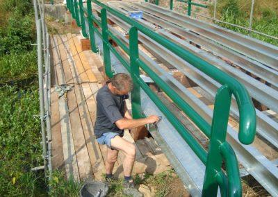 Renovatie van zeven bruggen