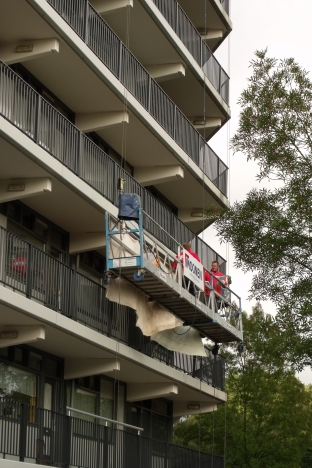 Renovatie van appartementen complexen Laurentius Breda