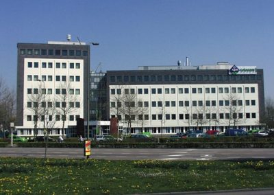 Gevelrenovatie KPN Telecom, 's-Hertogenbosch