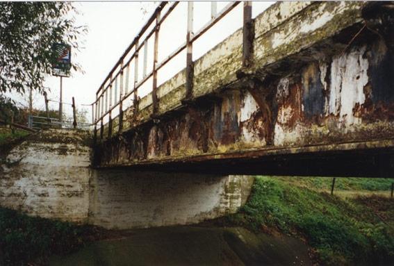 Groot onderhoud brug