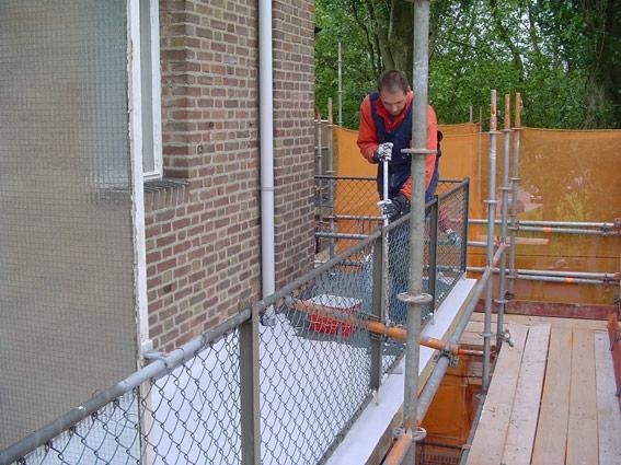 Renovatie balkons VVE, 's-Hertogenbosch