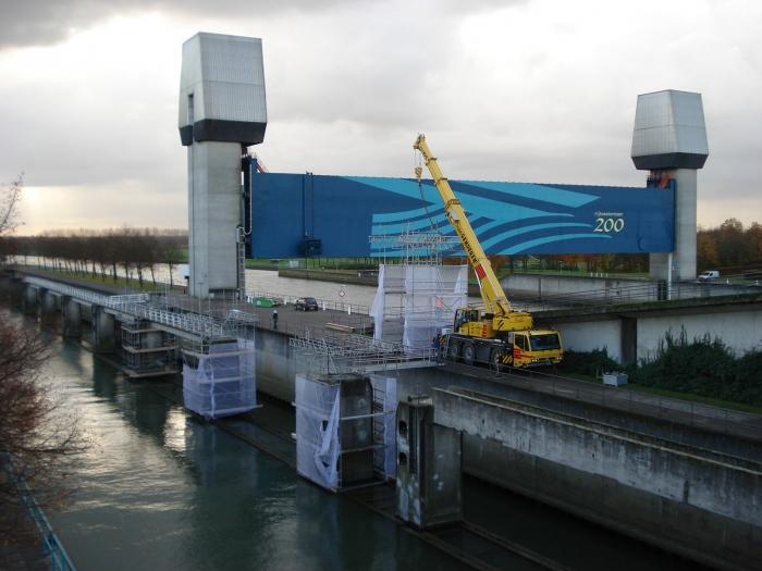 Groot onderhoud Marijkesluis, Rijswijk