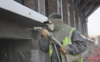 Renovatie laad-en losperrons Van Gend & Loos-loods