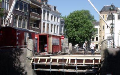 Restauratie historische Sint Jansbrug en Donkere Sluis