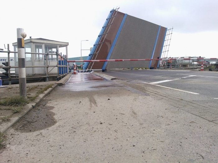 Renovatie Brug over de Arkervaart in Nijkerk