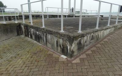Betonherstel sluis Gemeente Bergen op Zoom