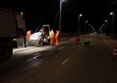 Plaatselijk herstel asfalt