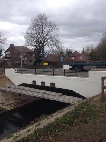 Eindresultaat renovatie brug Sittard