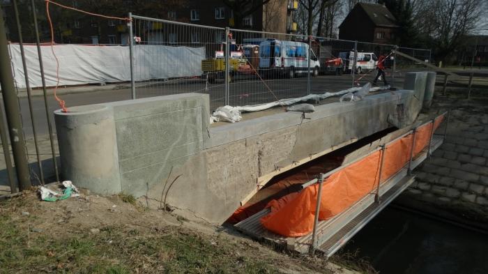 Renovatie brug Sittard