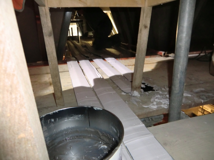 Werkzaamheden silogebouw Heijen