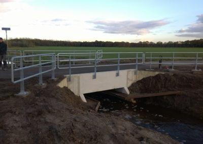 Eindresultaat vervangen brug