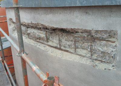 Betonreparatie, saneren beton