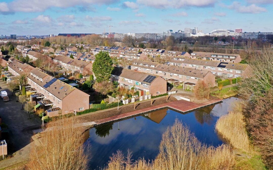 Batec vervangt steiger voor de Gemeente Amsterdam