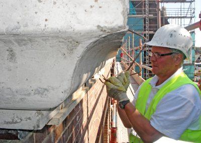 Herstel beton