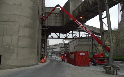 Betonherstel HOC-silo's ENCI