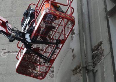 Betonreparatie silo Enci Maastricht