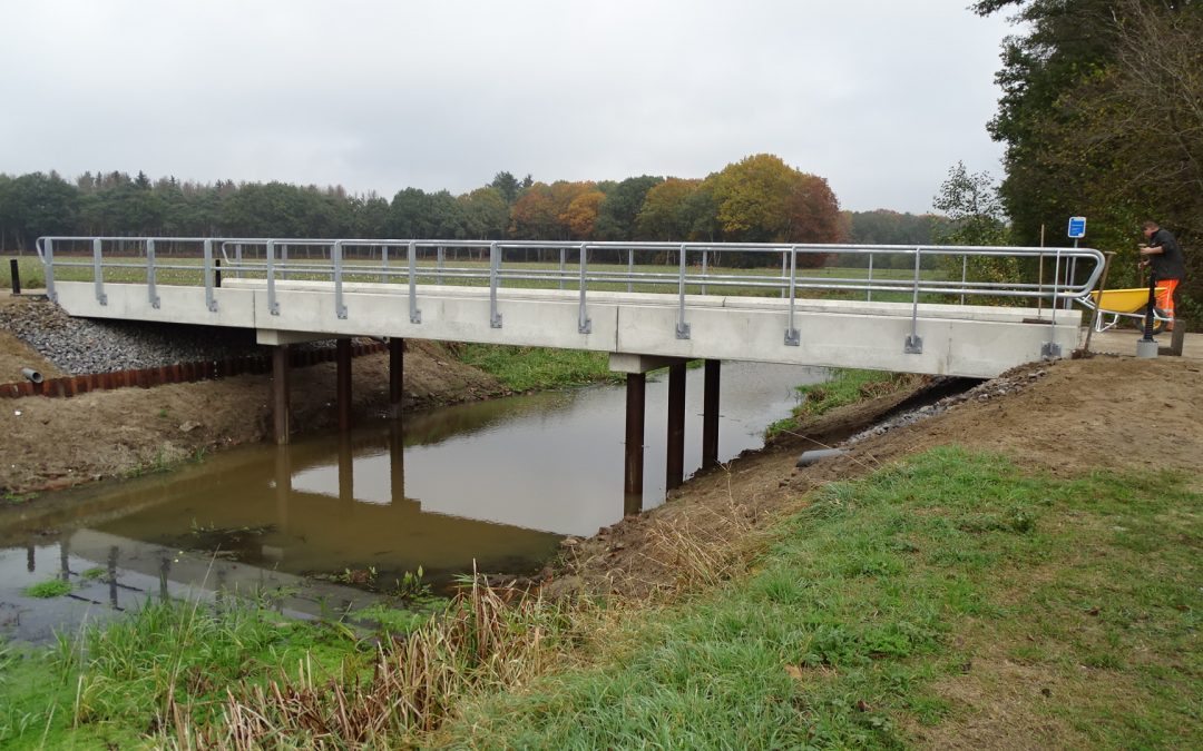 Nieuwe bruggen in Oirschot