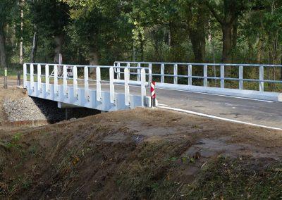 Nieuwe betonnen brug