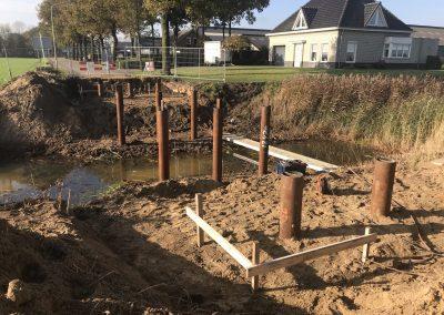 Bouw nieuwe brug