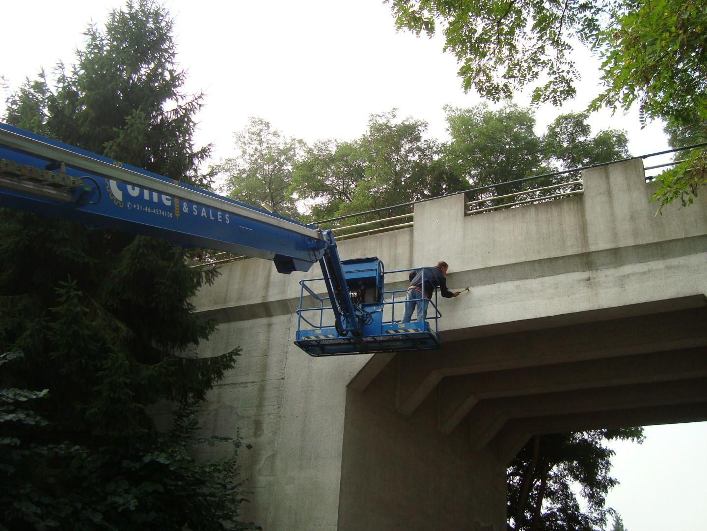 Inspectie viaduct