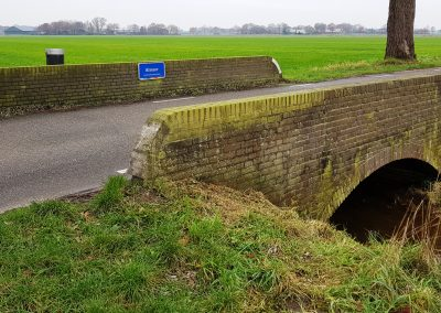 Te vervangen gemetselselde brug Bergeijk