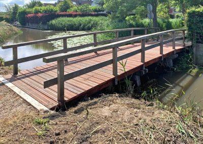 Vervangen brugdek