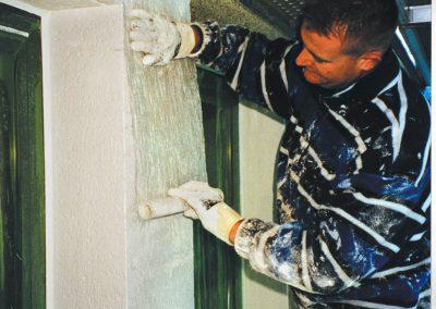 aanbrengen glasvlies in coating
