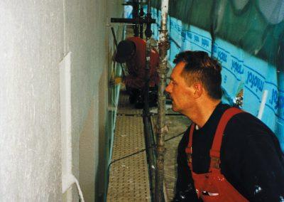aanbrengen scheuroverbruggende coating