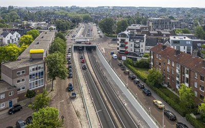 Onderhoud tunnel Oranjeplein Breda gereed