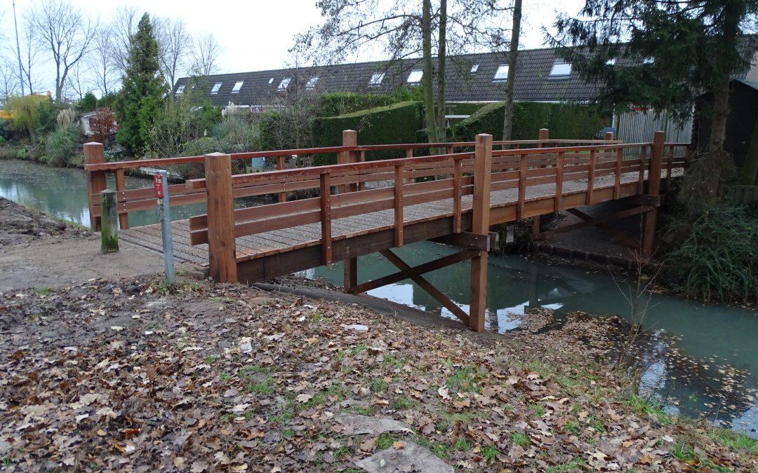 Batec vervangt ook houten bruggen: natuurlijk volledig FSC Gecertificeerd